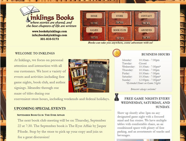 Books By Inklings Drupal CMS Website Design & Launch