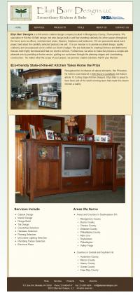 EllynBarrDesigns.com Omega Theme- Tablet/Narrow Layout